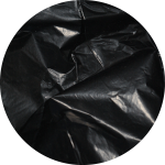 Recycling waste bags, hygienic sanitary | Black