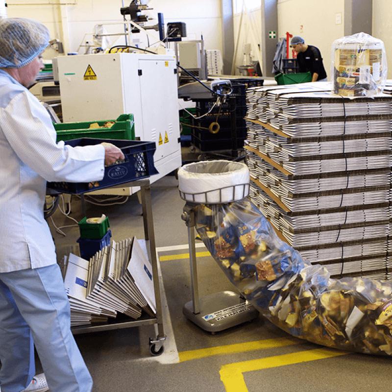 Manufacturing waste