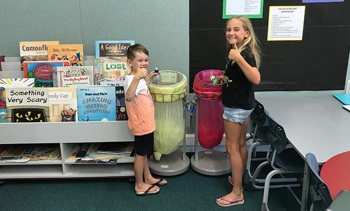 Smarter Waste Management in Schools