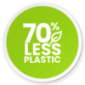 Save Over 70% on Plastic
